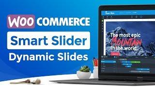 Smart Slider 3.3 PRO - Dynamic Slide Generator - WordPress WooCommerce Product Slider