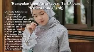 Kumpulan lagu album nisya sabian, 2019