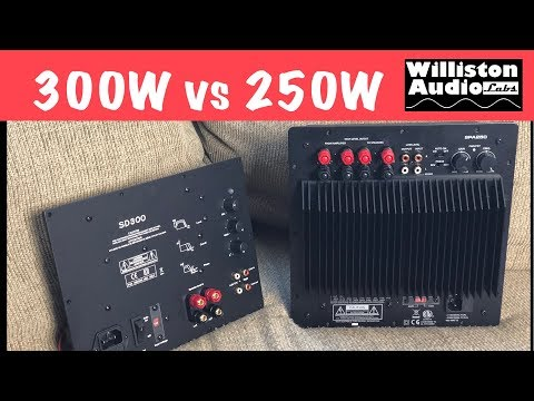 Subwoofer Plate Amps? Dayton SPA250 vs Yung SD300 Tested