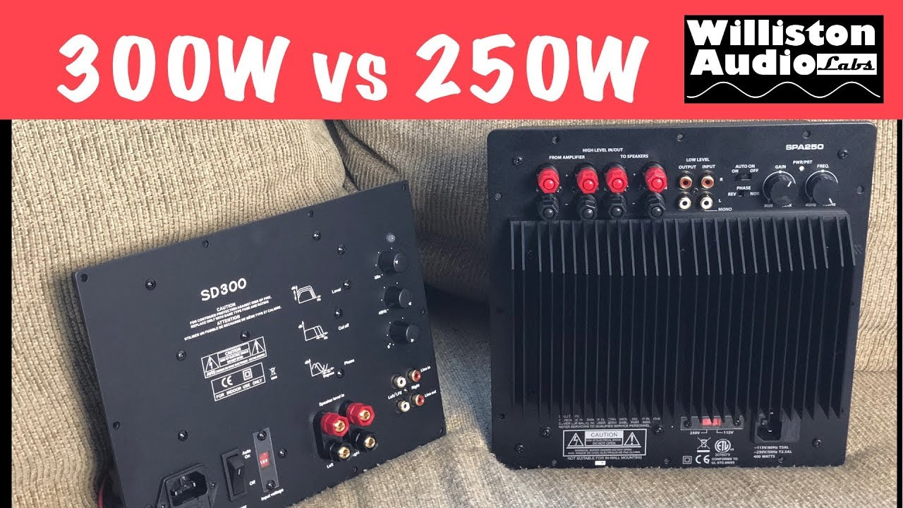 Subwoofer Plate Amps Dayton Spa250 Vs Yung Sd300 Tested Youtube 500 Watt Rms Power Amp Car Audio Bass Amplifier Wiring Kit Ebay Williston Labs