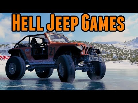 Hell Jeep Games - FailRace Vs The Community