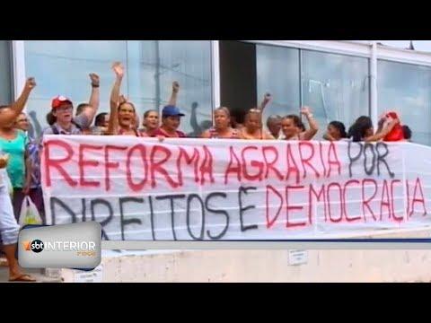 Protestos são realizados no Itesp em Presidente Prudente