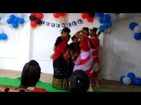 Assam deser chai ker bagane ...... A jhumur dance by English Department of DHSK COLLEGE
