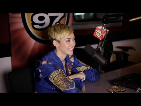Miley Cyrus Talks About Her Transition From Hannah Montana With Angie Martinez
