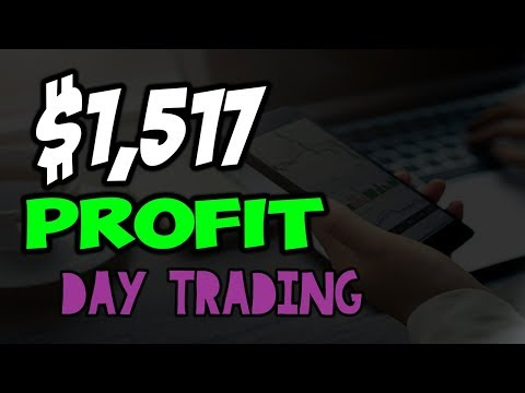 $1,517 Day Trading Penny Stocks Using Broker CMEG