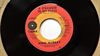 A Stranger In My Place , Anne Murray , 1971 YouTube Videos