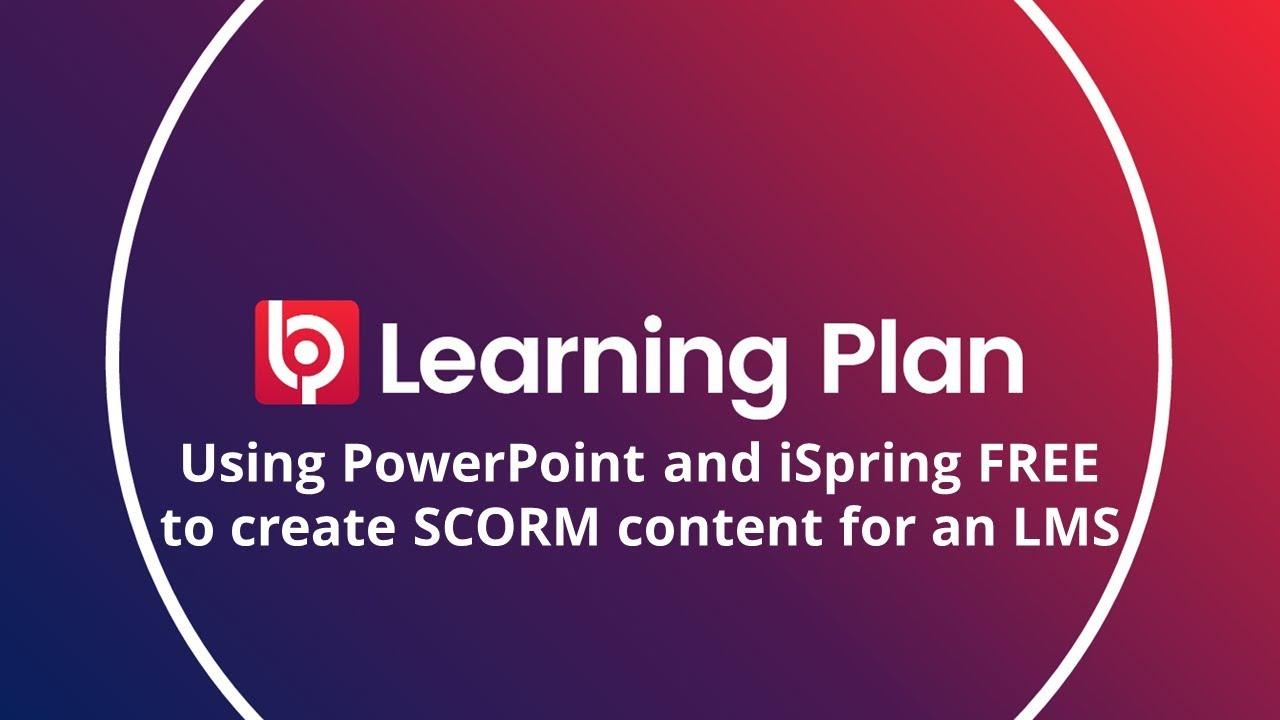 Creating SCORM with iSpring, PowerPoint and Moodle