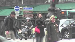 EXCLUSIVE: Gemma Arterton walking in the streets of Paris
