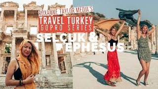 Selcuk and ancient ruins in Ephesus: Travel Turkey GoPro Vlog ep3