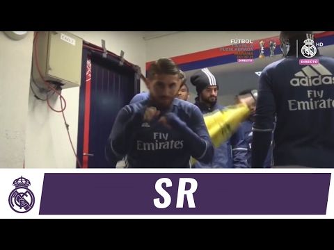 Go behind the scenes with Ramos on the day he made his 500th appearance for us!