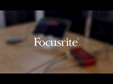Recording on iPad USB-C using Focusrite Scarlett 3rd generation
