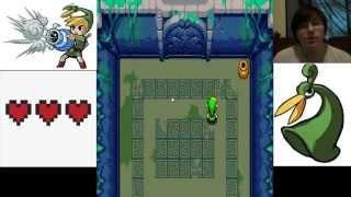 The Legend of Zelda: Minish cap - part 2 Finishing Deepwood shrine