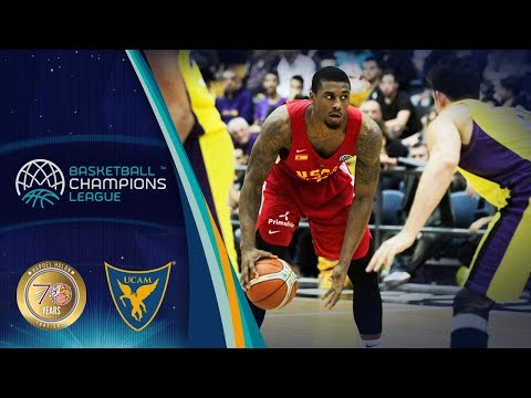 UNET Holon v UCAM Murcia - Full Game - Basketball Champions League 2017-18