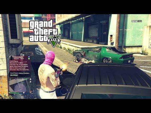 GTA 5 ONLINE! KILLING RANDOM PEOPLE (LOBBY KILLING SPREE)