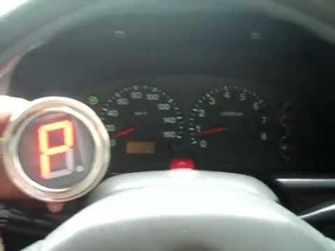 Индикатор переключения передач