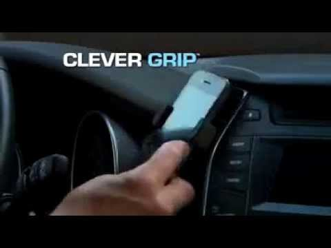 Download Youtube: Clever Grip Commercial As Seen On TV Smart Phone Car Holder | Clever Best As Seen On TV Phone Grip
