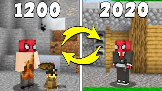 FERİTED VS ZAMAN MAKİNESİ ⏳ - Minecraft