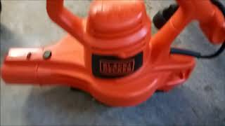 Black & Decker Electric Leaf Blower Unboxing