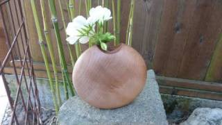 Woodturning Projects Two Part Vase