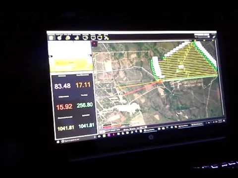 ArduPilot MISSION PLANNER Ground Station w/ X-UAV Talon V3 Airborne