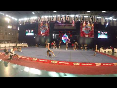"golden twinkles hd ,""cs chile brands"" final nacional cheer sport 2016"