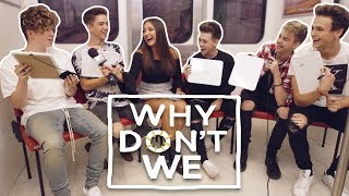 One of Jaclyn Forbes's most viewed videos: WHY DON'T WE Plays The Most Likely To Challenge | Interview with Jaclyn Forbes