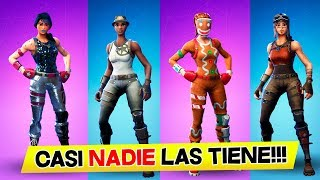 The 13 rarest and most exclusive SKINS that exist in FORTNITE (they are worth a lot)