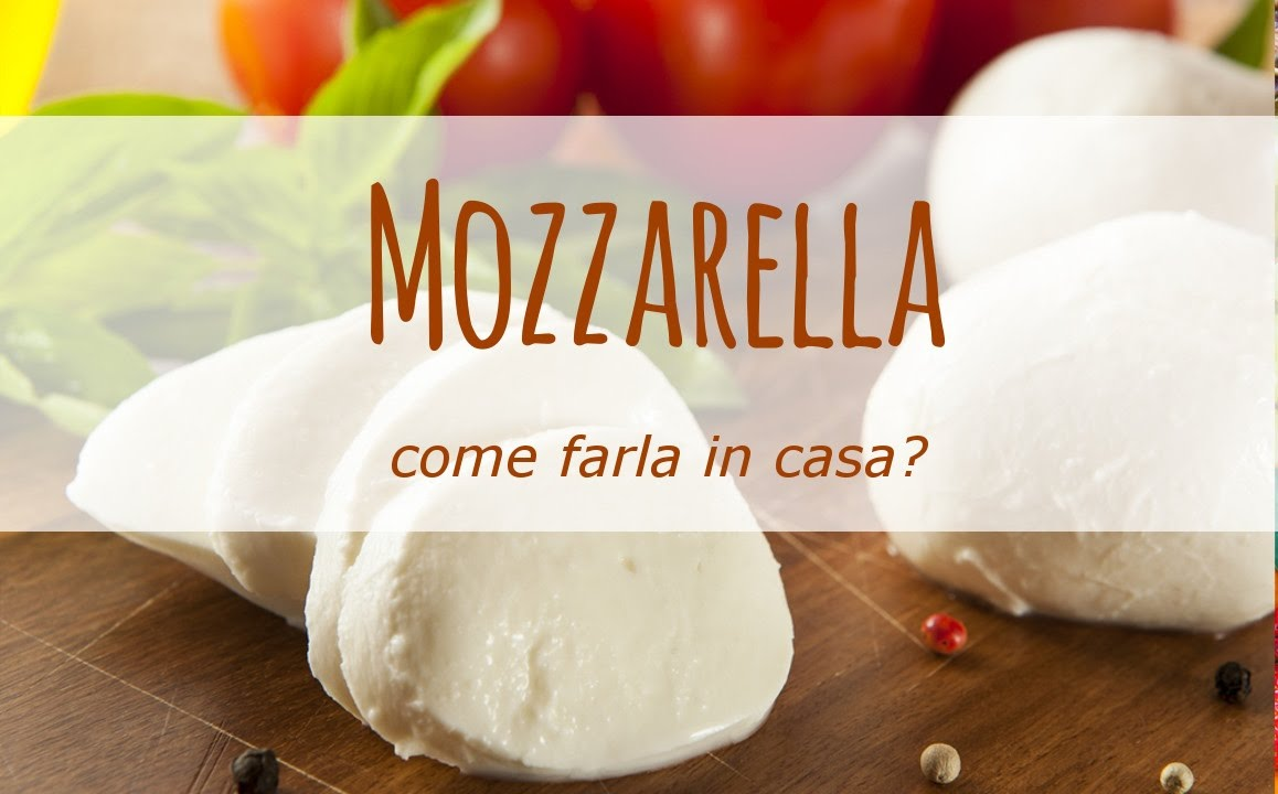 Come Fare La Mozzarella In Casa Youtube