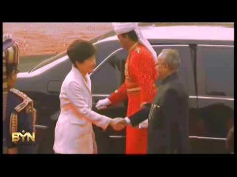 4144AS INDIA-SOUTH KOREAN PRESIDENT