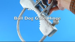 Bull Dog Gate Hinges For Chain Link Fence Gates