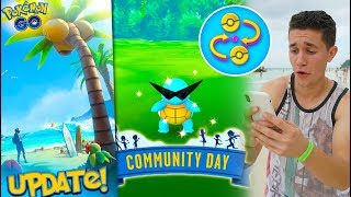 THE SUMMER UPDATE (TRADING) in Pokémon GO! + SQUIRTLE SQUAD COMMUNITY DAY!