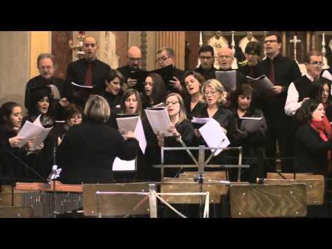 Cori San Giorgio e Tre Ponti di Mercurago - Hodie Christus natus est (K. Owolabi)