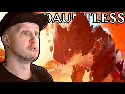 FREE TO PLAY MMO MONSTER HUNTER!?   Dauntless Gameplay Part 1