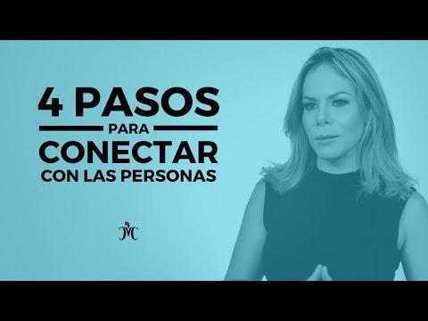 4 PASOS PARA CONECTAR CON LAS PERSONAS   Tips de Vida con Michelle Campillo