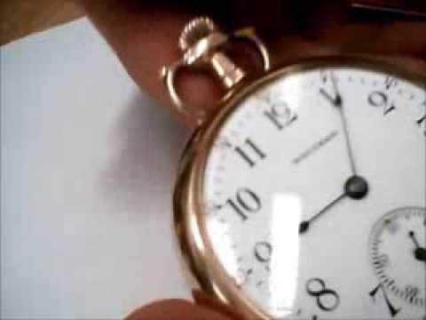 Antique Waltham Pocket Watch size 16 - 7 jewels - 1899 - Montre de Gousset Waltham a 7 rubis -