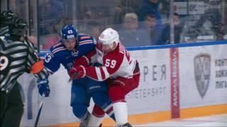 KHL Top 10 Hits for Week 8(Все хайлайты и моменты матчей доступны для просмотра на http://video.khl.ru/, 2016-10-21T08:56:18.000Z)