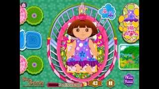 Даша Игра—Даша Пеленки—Мультик Онлайн Видео Игра Для Детей 2015 Dora Diaper Change Dora the Explorer