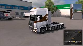 Euro Truck Simulator 2 - Scania V8 Amazing Sound!