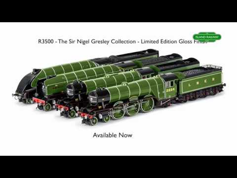 Hornby The Sir Nigel Gresley Collection Limited Edition Locomotives Train Pack - R3500