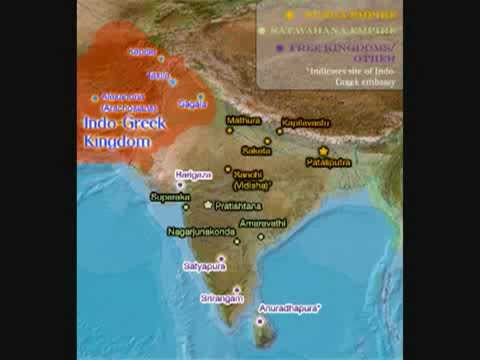 Indo - Greek (Greco - Bactrian) Kingdom.