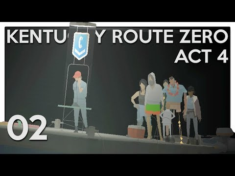 Let's Play Kentucky Route Zero [Act 4] Part 2 - Radvansky Center [Blind PC Gameplay]