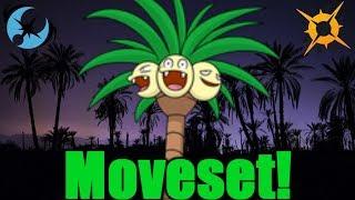 Alolan Exeggutor Moveset Guide Pokemon Ultra Sun & Ultra Moon