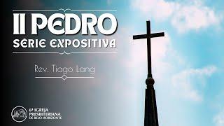 """2 Pedro 2 """"Combatendo os falsos mestres"""" -  Pr. Tiago Lang -  10-10-2021"""