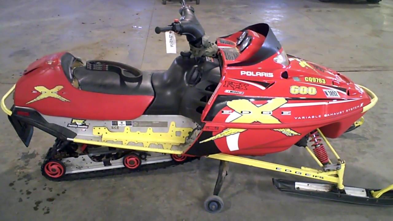 2001 POLARIS EDGE X 600 Tear Down Into Parts LOT 3420A