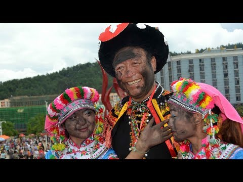 Black ash on face, bad luck to go: Black Face Festival attracts thousands in SW China