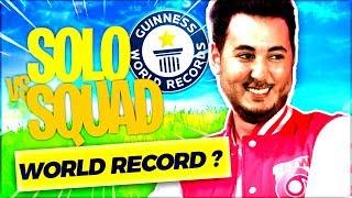 LA GAME PARFAITE POUR BATTRE MON WORLD RECORD ?! ► FORTNITE