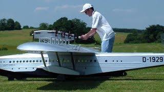 GIANT FLYING RC BOAT D-1929 DORNIER DO-X SCALE MODEL AIRPLANE