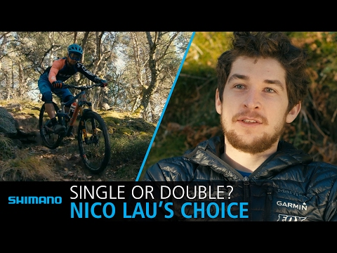 Single or double drivetrain? Discover why Nico Lau prefers 2x11 in enduro