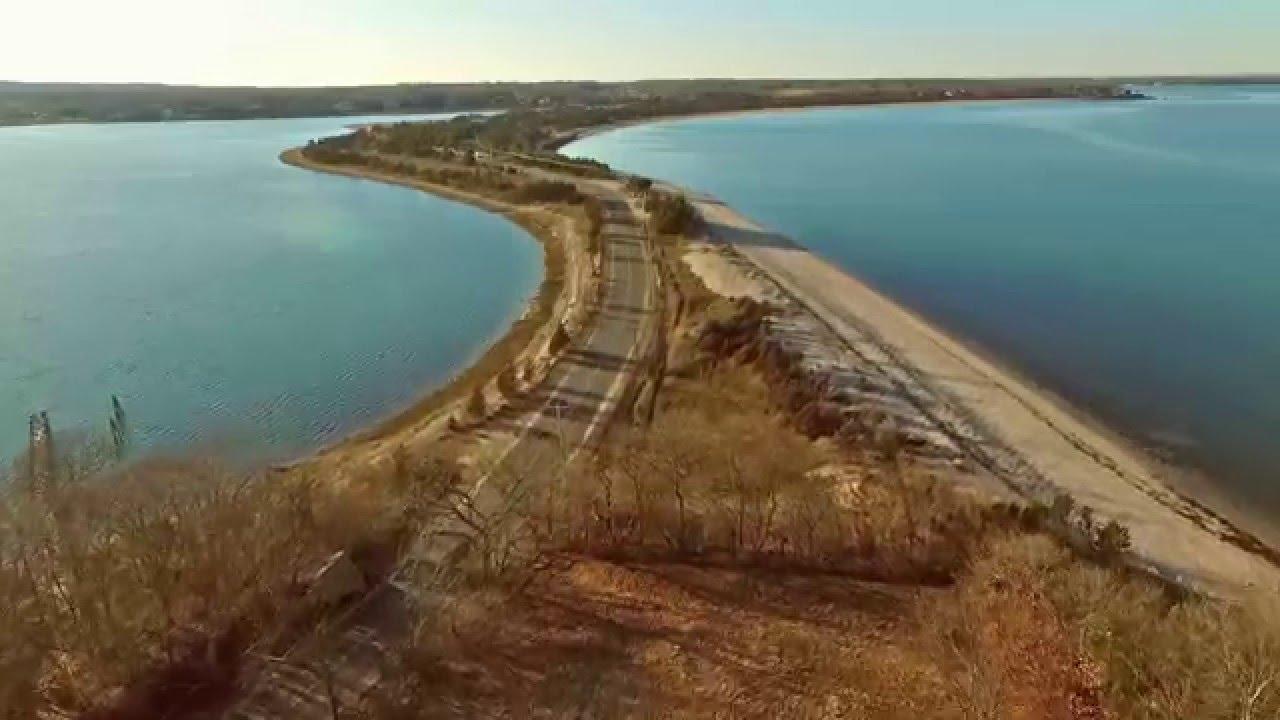 Hay Beach Point Above Gardiners Bay To Ram Island Shelter