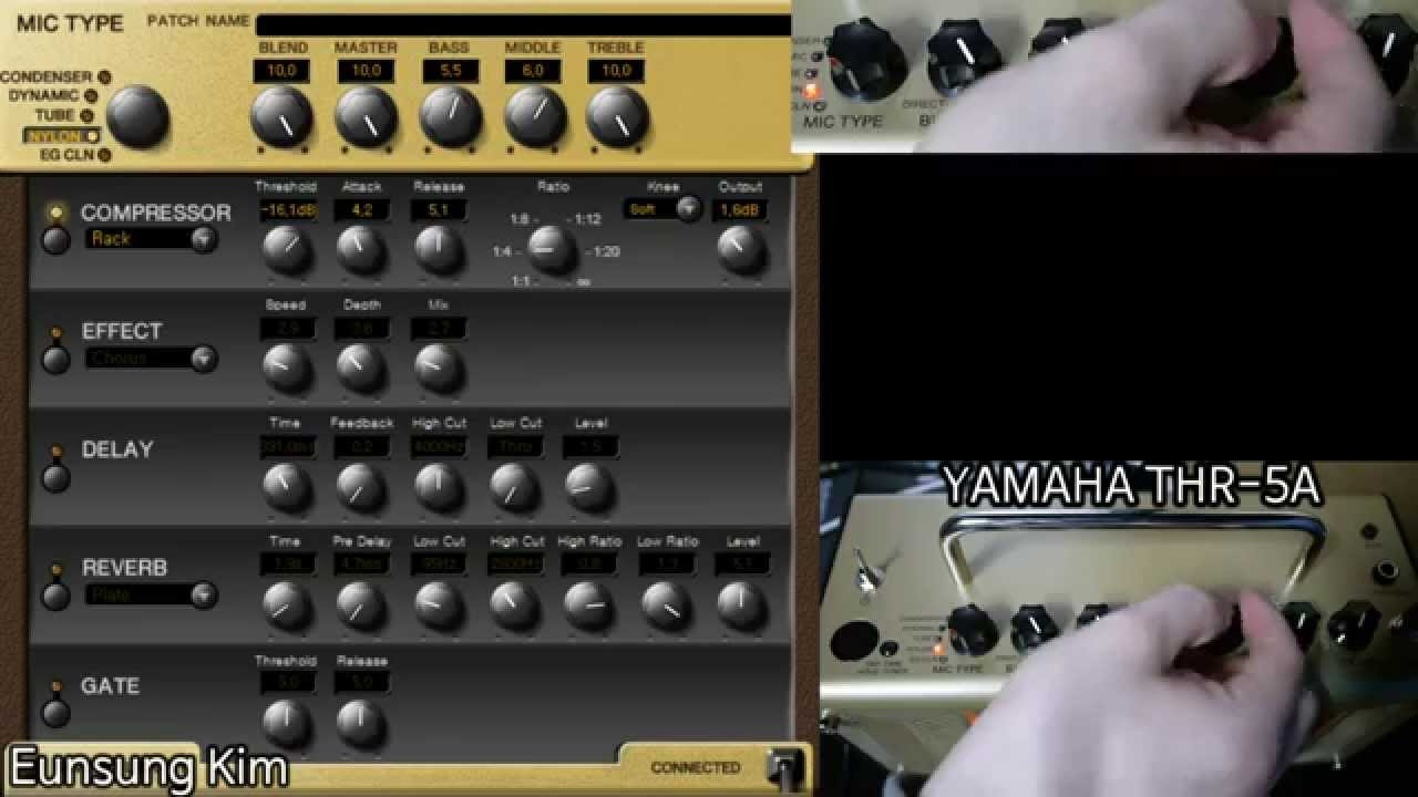 thr 5a yamaha acoustic amp sound review 4 youtube. Black Bedroom Furniture Sets. Home Design Ideas